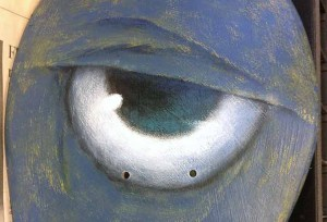 Eye, close up