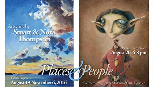 Places & People exhibit