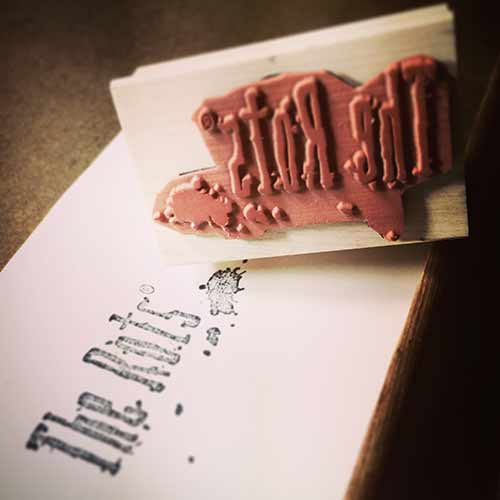 Rots Rubber Stamp